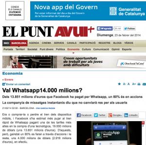 enrique san juan opina como experto para el diario El punt avui